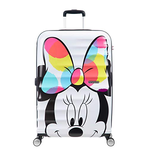 99850ef9346 American Tourister DISNEY Wavebreaker Spinner Luggage Large, Minnie  Close-Up, Checked - Large