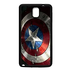Captain America Shield Brand New And Custom Hard Case Cover Protector For Samsung Galaxy Note3