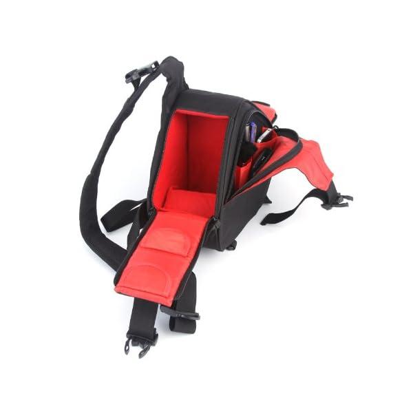 Caden K1 Waterproof Fashion Casual DSLR Camera Bag Case Messenger Shoulder Bag per Canon Nikon Sony (Nero) 2 spesavip