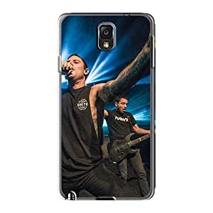 Durable Hard Cell-phone Cases For Samsung Galaxy Note3 With Support Your Personal Customized HD Heaven Shall Burn Band Hsb Pictures KennethKaczmarek