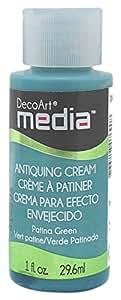 Deco Art Media Antiquing Cream, 1-Ounce, Patina Green
