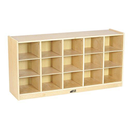ecr4kids-birch-15-cubbie-tray-cabinet
