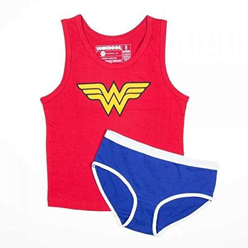 DC COMICS WONDER WOMAN Underoos Top And Panty Girls Underwear 2pc Set S - Woman Set Panty Wonder