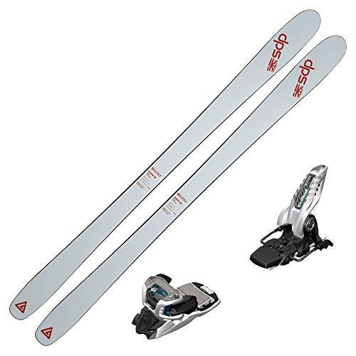 2017 DPS Cassiar 85 Pure3 Skis w/ Marker Griffon Bindings (White/Teal)
