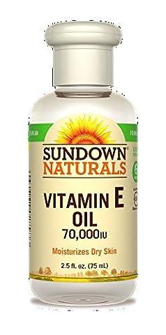 Sundown Vitamin E Oil 70000 IU, 2.5 fl