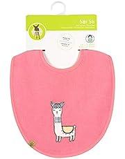 Lässig slabbetje voor baby's en peuters, medium, waterafstotend, klittenbandsluiting, medium Bib Glama Lama