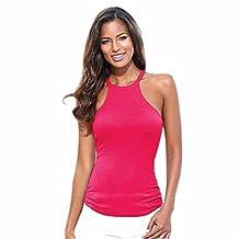 Changeshopping Womens Sleeveless Sexy Fashion Sling Vest Camisole Shirt Tops