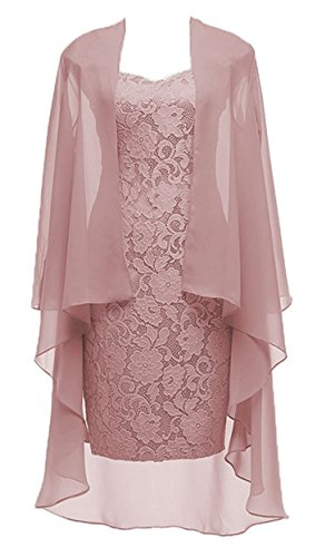 VaniaDress Women Two Piece Mother Of The Bride Dress Prom Gown V107LF Blush US16 from VaniaDress