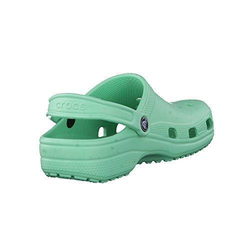 crocs - Zuecos para mujer New Mint
