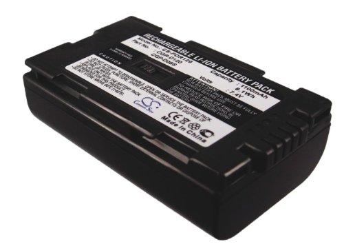 1100mAh Replacement Battery For HITACHI DZ-MV200A, NV-DS99