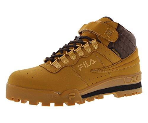 Fila Men's F-13 Weather Tech Hiking Boot, Wheat/Espresso/Medium Gold, 12 M US