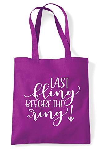 Shopper Statement Tote Before Bag Fling The Magenta Engagement Ring Last Party fwzpUqP6x