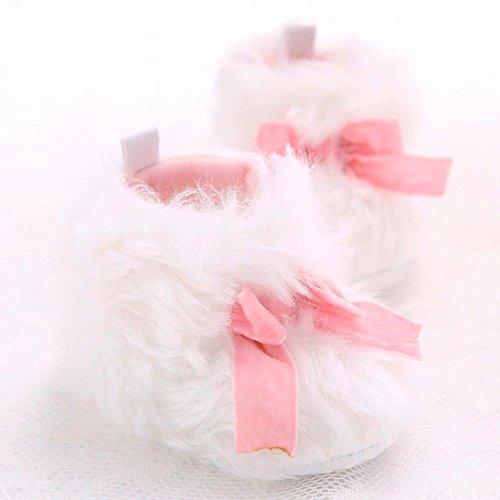 Jamicy® Mädchen Schneestiefel süße weiche Sohle Prewalker Winter Warm Krippe Schuhe