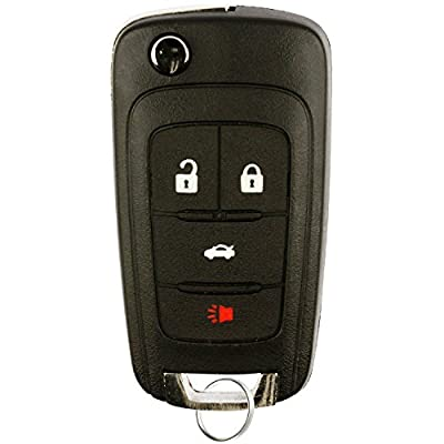 Replacement Keyless Remote Fob Key Shell Case Fit For Buick Encore LaCrosse Regal Verano Chevrolet Camaro Cruze Equinox Malibu SS Sonic GMC Terrain OHT01060512: Beauty