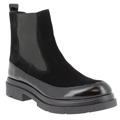 Noir Noir ELIZABETH Pesley STUART Damen Boots Chelsea qgqvrX