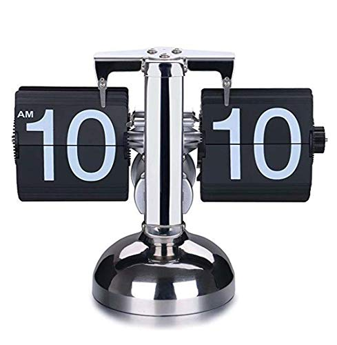 - MAOYOU Retro Digital Flip Clock - Internal Gear Operation