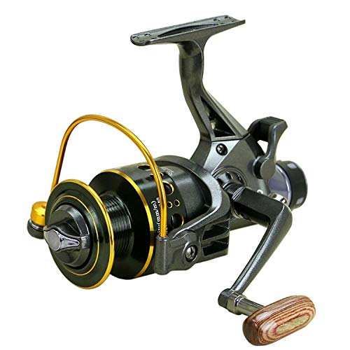 (Xiao-Jing Fishing Reel 10+1Bb Metal Spinning Reel Carp Bait Cast Spinning Front and Rear Drag Sea Fishing Gear Reel,10,3000 Series)