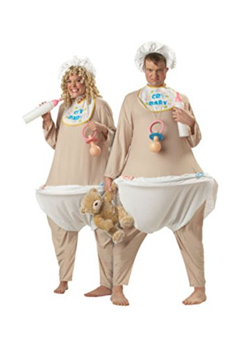Adult Men Funny Cry Baby Halloween Couple Costume Most Viewed -