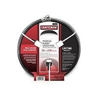 Craftsman Premium Rubber Garden Hose, 50FT. x 5/8. inch