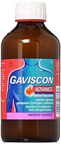 Gaviscon Advance Aniseed, 500 ml Pack of 3 (3 Days Shipping via DHL)