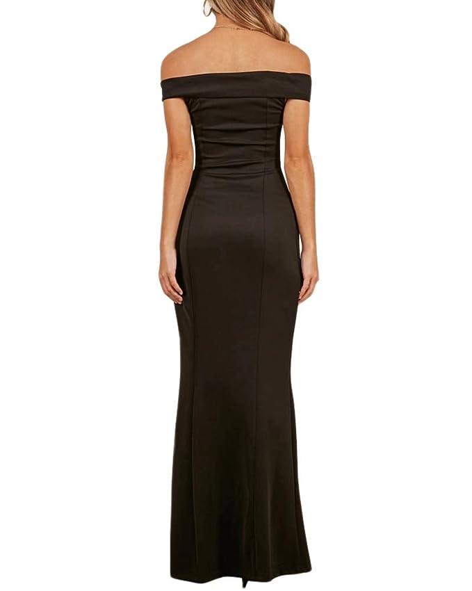 Cytree Damen Elegant Langes Abendkleid V-Ausschnitt Ballkleider  Cocktailkleider Festlich Kleider  Amazon.de  Bekleidung 00464b3845