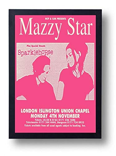 Mazzy Star Gig Poster Print Funny Poster Gift for Men Woman Poster Home Art Wall Posters [No Framed]