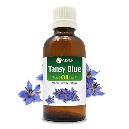 Tansy Blue Oil (Tanacetum annuum) 100% Natural Pure Undiluted Uncut Essential Oil 30ml ()