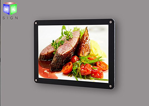 Art Acrylic Photo Frame Light Boxes For Advertising Display by Haokang Sign