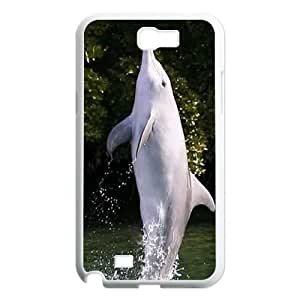 Dolphins ZLB811194 Customized Case for Samsung Galaxy Note 2 N7100, Samsung Galaxy Note 2 N7100 Case by lolosakes