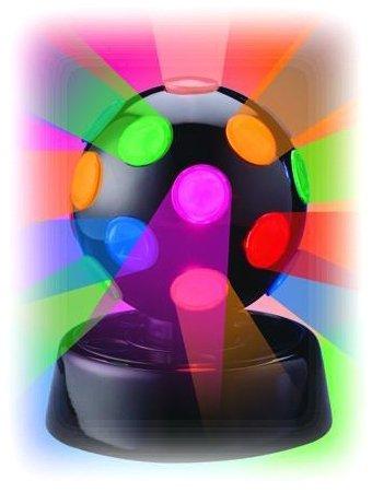 "4"" Rotating Disco Ball Light"
