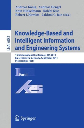 Knowledge-Based and Intelligent Information and Engineering Systems, Part I: 15th International Conference, KES 2011, Ka