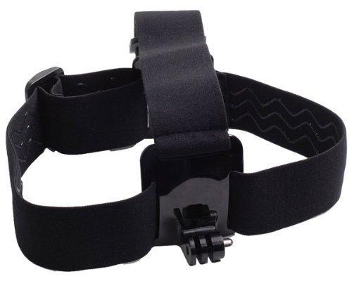 General Mega GoPro Tools Accessories Adjustable Head Strap/Belt Harness Mount + Aluminum Thumbscrew Mount for Gopro HD Hero3+ Hero3 Hero2 1 Cameras AEE SD20/HD50 Motion Camera with Wavy Non(slip Design)