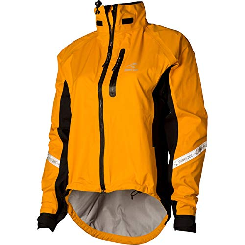 Showers Pass Women's Waterproof Breathable Elite 2.1 Cycling Jacket (Goldenrod - Large)