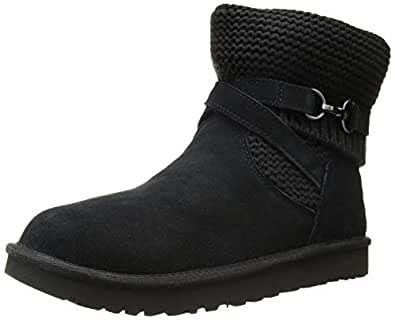 Amazon Com Ugg Women S W Purl Strap Fashion Boot Boots