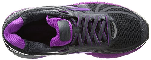 Brooks Ariel 16, Zapatos Para Correr Para Mujer Gris (Anthracite/purplecactusflower 1b059)