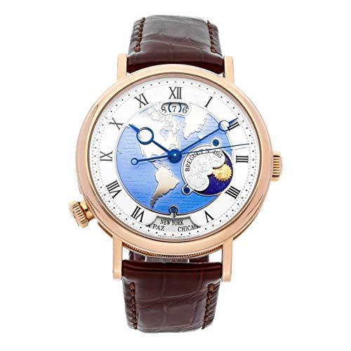 Breguet Classique Mechanical (Automatic) Gold Dial Mens Watch 5717BR/US/9ZU (Certified Pre-Owned) (Breguet Watches Men)