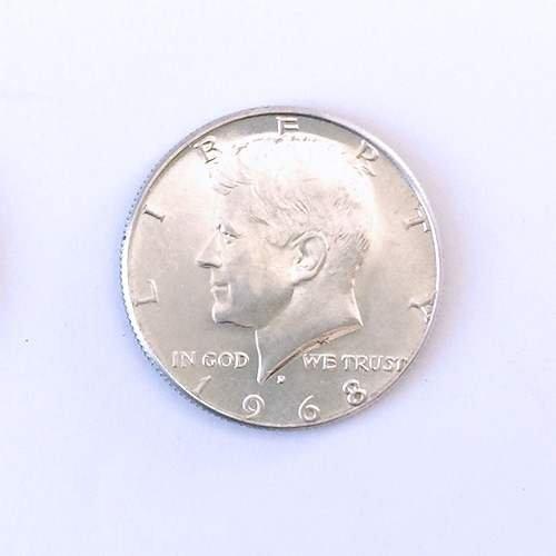 SOLOMAGIA Moneta da mezzo Dollaro - Argento 400 - Magia con Monete - Giochi di Magia e Prestigio