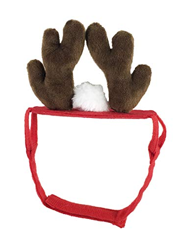 Dog Hat Santa Christmas Reindeer Antlers Party Holiday Costume Pet Cat Cap Head Wear Accesories
