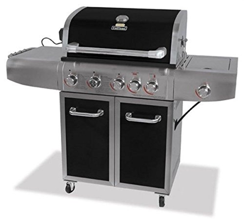 BLUE RHINO GBC1273SP Uniflame Liquid Propane Deluxe Grill with Stainless Steel Searing Rotisserie Burner by BLUE RHINO