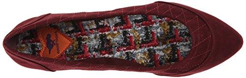 Rocket Dog Women's Rynna Coast Quilted Fabric Flat Mulberry tgr0USqYx