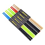 5A Nylon Drumsticks for Drum Set Light Durable