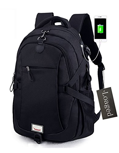 Loaged Business Bags + USB Charging Anti-theft Laptop Backpack (Large Image)