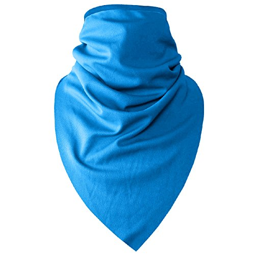 OLSUS Polyester Quick Drying Breathable Cycling Scarf Mask Blue by OLSUS