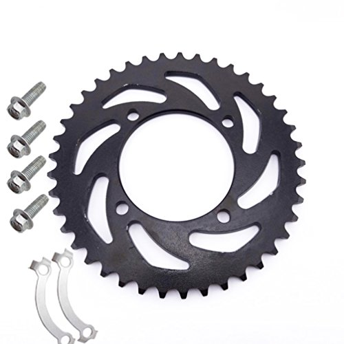 XLJOY 420 76mm 41 Tooth Rear Sprocket for 50cc 110cc 125cc 140cc 150cc CRF50 KLX SSR Pit Dirt Bike
