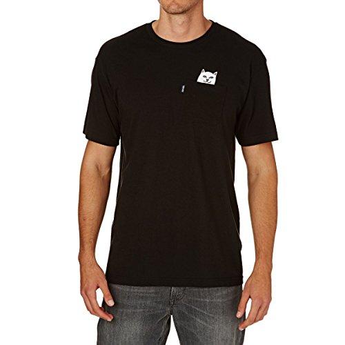 Rip N Dip Lord Nermal Pocket T-Shirt (Black) Small by RIPNDIP