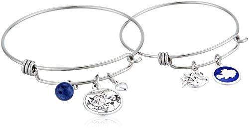 Disney Mommy & Me Stainless Steel Bangle Bracelet Jewelry Sets