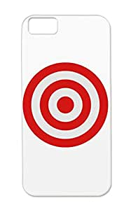 Disc Target Practice Hit Archery Sports Hunting Throw T Shirts Scope Shot Arrow Dart Aiming Bullseye Designs Circle Board Activity Archer Aim Bow Shapes Bulls Eye Symbols Silver Target For Iphone 5c Protective Case