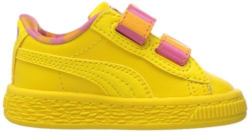 Puma Bird Mono Big Basket Sneaker Str V Kids' Sesame Inf raUfWrX