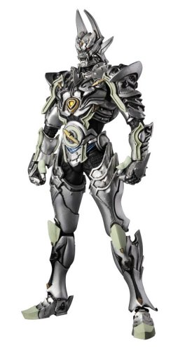 (S.I.C. Ultimate Silver Knight Garo action figure by Bandai)