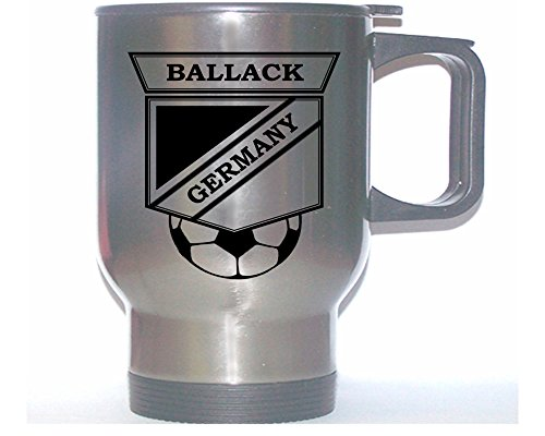 Michael Ballack (Germany) Soccer Stainless Steel Mug